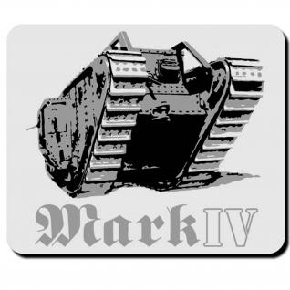 Militär Heer Britischer Wk Kampfpanzer England Mark IV Panzer - Mauspad PC #16599