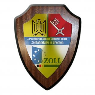 Wappenschild / Wandschild -Zur Erinnerung an Deine Dienstzeit Kollegen #12723