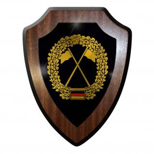 Wappenschild / Wandschild - Heeresaufklärer Deutschland Militär Wappen #7399