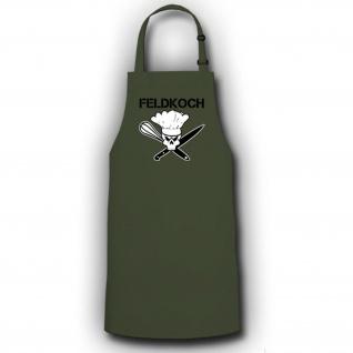 Feldkoch Bundeswehr Militär Marine - Kochschürze / Grillschürze #13152