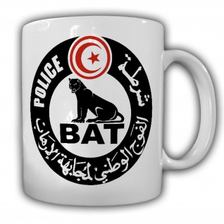 TAsse La Brigade Anti Terrorisme BAT Tunesien Polizei Spezial Einheit #22231