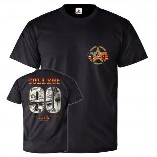 College USA Army Militär Armee Amerika Tattoo Lifestyle T Shirt #26145