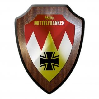 RSUKp Mittelfranken Kompanie Reservisten Einheit Wandschild #17102