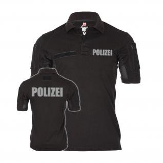 Tactical Polo Polizei reflektierend Streife Komissar Uniform Behörde #22269