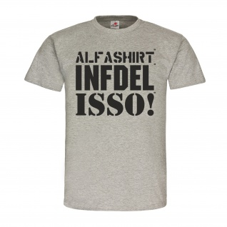Infidel Isso Alfashirt Marken Fan Militär BW Us Armee T-Shirt #20383