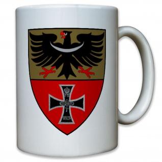 Breslau Stadt Stadtwappen Wappen Abzeichen historisch - Tasse Kaffee #11452
