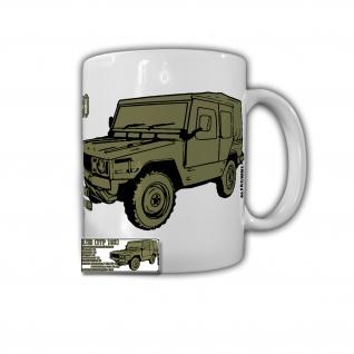Tasse Iltis Tasse mit Daten 183 Kübel Bw Geländewagen LKW Nato Belgien #32043