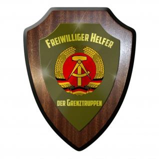 Wappenschild - Freiwilliger Helfer Grenztruppen DDR Republik NVA #10026 w