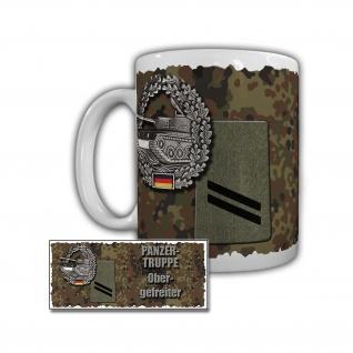 Tasse Panzertruppe Obergefeiter Panzerbataillon 104 Pfreimd #29900