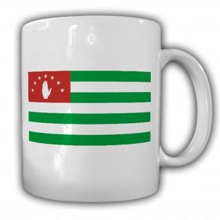 Abchasien Kaukasus Fahne Flagge - Tasse Kaffee Becher #13274 t