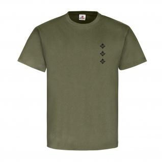 Hauptmann Dienstgrad Bundeswehr BW Abzeichen Schulterklappe - T Shirt #15918