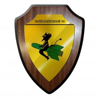 Wappenschild / Wandschild -Panzerjägerkompanie 360 PzJgKp Unteroffizier #9707