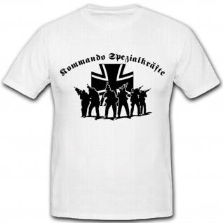 Bundeswehr Einheit Einsatz War Kommando Spezialkräfte Elite Ksk - T Shirt #2632