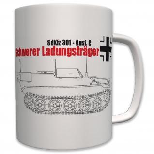 Militär Fahrzeug Ketten Schwerer Ladungsträger Sdkfz 301 Heer - Tasse #6414