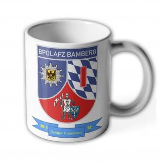 Tasse BPOLAFZ 1 Bundespolizei Aus und Fortbildungszentrum Bamberg #34072
