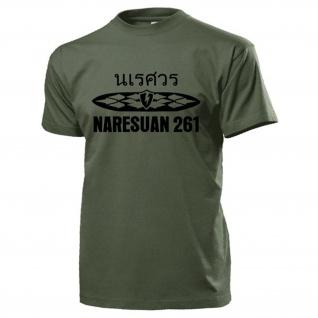 Naresuan 261 Counter Terrorism Unit Thailand Royal Thai Police - T Shirt #17727
