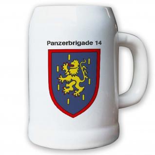 Krug / Bierkrug 0, 5l -12.Bierkrug Panzerbrigade14 PzBrig Brigade Einheit #12976