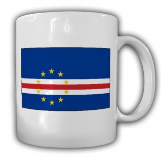 Kap Verde Fahne_Flagge Flag Republik Cabo Verde Kaffee Becher #13535