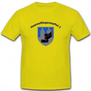 Heeresfliegerstaffel 2 Heer Bundeswehr Bw Wappen Abzeichen - T Shirt #5519