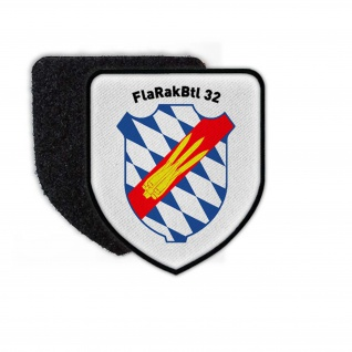 Patch FlaRakBtl 32 Bataillon Wappen Abzeichen Raketen Bund Bundeswehr #25085