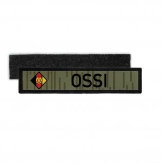 Namenspatch NVA Ossi DDR Nationale Volksarmee Abzeichen Streifen Aufnäher #27757