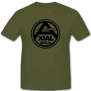 Axial Propeller Berlin Luftwaffe Deutschland Herstellung T Shirt #2900