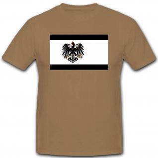 Preußen Adler Flagge Fahne Wappen Emblem - T Shirt #2724