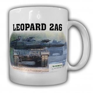 Tasse M&N Pictures Leopard 2A6 Panzer Leo Deutsches Militär #25578