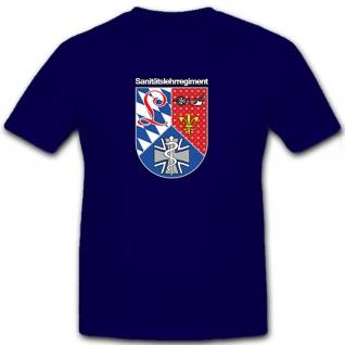 Sanitätslehrregiment - SanLehrReg Bundeswehr Deutschland Militär - T Shirt #8963