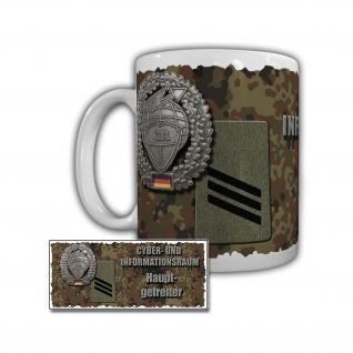 Tasse Cyber- und Informationsraum Hauptgefreiter Bundeswehr #29395