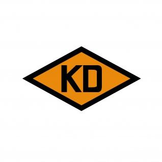 Kommandantendienst KD Aufkleber NVA Militärstreife DDR Nationalen 11x6cm A5539