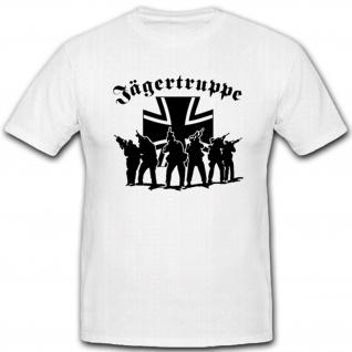 Jägertruppe Elite Militär Bundeswehr Einheit Einsatz War T Shirt #2629