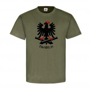 FArtBtl 21 Feldartilleriebataillon BW Militär Wappen Abzeichen - T Shirt #18457