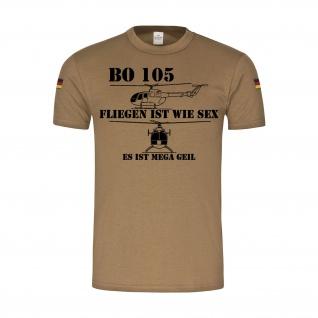 BW Tropen Bo 105 fliegen ist wie Sex Bundeswehr Humor Hubschrauber Spaß #31478