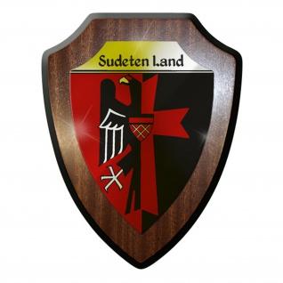Wappenschild / Wandschild / Wappen - Sudetenland Adler Deutschland #8819