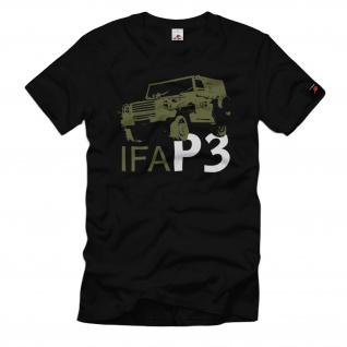 IFA P3 DDR NVA P240 Sachsenring Geländewagen Grentruppen T-Shirt#32529