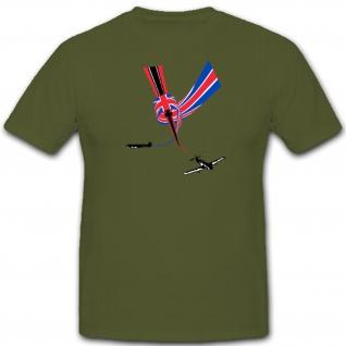 England Versus Germany Luftwaffe Wk Wh Flugzeuge Kampf- T Shirt #3653