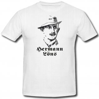 Hermann Löns Deutschland Bromberg Westpreußen Journalist T Shirt #1107