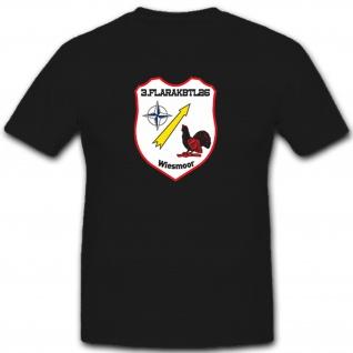 3FlaRagBtl26 Bundeswehr Wappen- T Shirt #7669