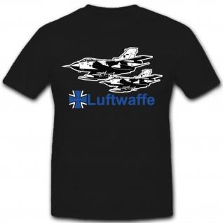 Luftwaffe Tornado Bundeswehr Luftwaffe Tornado Flugzeug Jet - T Shirt #7256