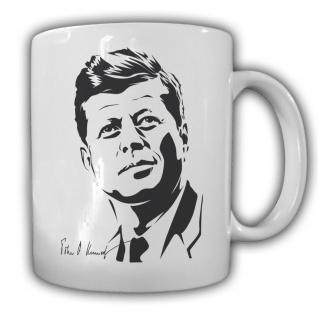 John F. Kennedy Präsident Vereinigte Staaten von Amerika President Tasse #27564
