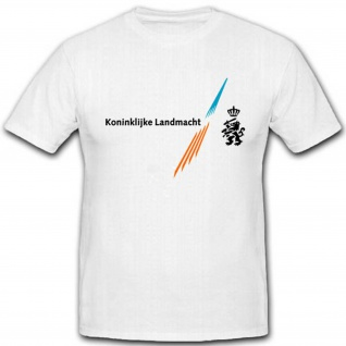 Koninklijke Landmacht Holland königliches Heer Militär Einheit - T Shirt #3567