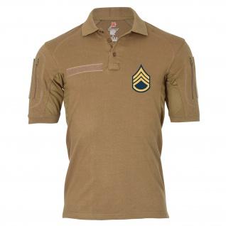 Tactical Polo Staff Sergant Dienstgrad Emblem Abzeichen #26396