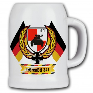 Bierkrug PzGrenBtl 341 Panzergrenadier Bataillon BW Grennis Infanterie #11850