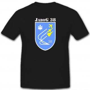 Bundeswehr Luftwaffe Jabog 38 Militär Einheit Wappen Abzeichen - T Shirt #1499
