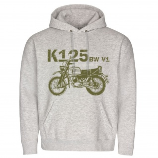 K125 BW V1 Motorrad Bundeswehr Krad Kradmelder Kapuzenpullover #15782