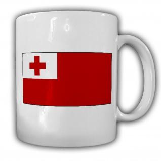 Tasse Königreich Tonga Fahne Flagge Kaffee Becher #13942