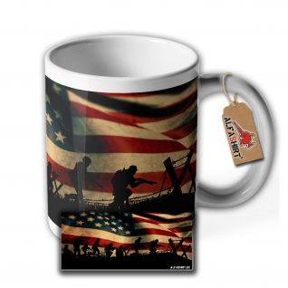 Tasse American Veterans USA Soldat Reserivst Nation Amerika Becher #35206