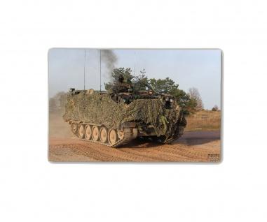Poster M&N M113 Bw Alu Panzer MTW Bundeswehr Tarnung Brems-Keil ab30x20cm#30297