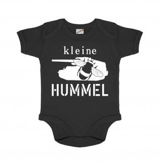 Baby Strampler kleine Hummel Panzerhaubitze Selbstfahrlafette Spaß Humor #30655